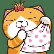 อิโมจิไลน์ Lan Lan Cat Emoji