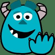 อิโมจิไลน์ Monsters, Inc. อิโมจิ