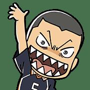อิโมจิไลน์ Haikyu!! Emoji
