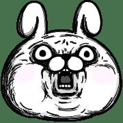 อิโมจิไลน์ Rabbit100% อิโมจิ