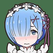 อิโมจิไลน์ Re:ZERO Emoji