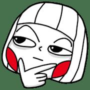 อิโมจิไลน์ Ms Big Emoji