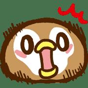 อิโมจิไลน์ Very Cute Foodie Boston G Emoji