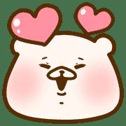 อิโมจิไลน์ Friend is a bear
