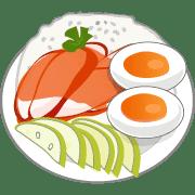 อิโมจิไลน์ อิโมจิ ขนมไทย และ อาหารอื่นๆ