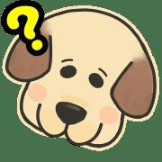 อิโมจิไลน์ Pretty Labrador retriever