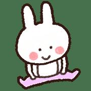 อิโมจิไลน์ Everyday rabbit emoji