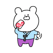 อิโมจิไลน์ Korean food emoji