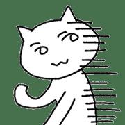 อิโมจิไลน์ side-glances cat