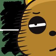 อิโมจิไลน์ Tsundere Bear & Straight Bear Emoji 2