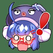 อิโมจิไลน์ Otomachi Una