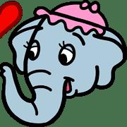 อิโมจิไลน์ ช้างน้อยดัมโบ้ อิโมจิ