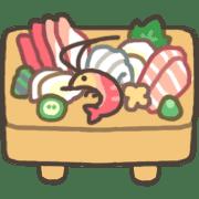 อิโมจิไลน์ GOOD bear's SUSHI BAR emoji