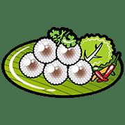อิโมจิไลน์ ขนมไทย
