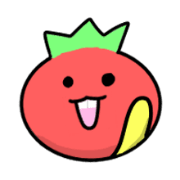 อิโมจิไลน์ Everyday emoji of tomato man.