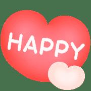 อิโมจิไลน์ ♡ ชุดอิโมติคอนหัวใจน่ารัก ♡ ทุกวัน ♡