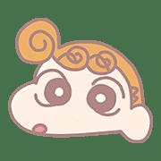 อิโมจิไลน์ Crayon Shinchan Pastel Emoji