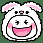 อิโมจิไลน์ Panda and Rabbit, Girls Daily Mix
