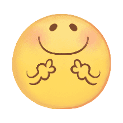 อิโมจิไลน์ Cute smiley