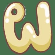 อิโมจิไลน์ อักษรไทยน่ารัก ก-ฮ