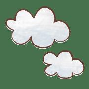 อิโมจิไลน์ cute & simple Emoji like a picture book