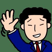 อิโมจิไลน์ Naniwa Office worker