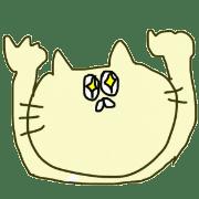 อิโมจิไลน์ gesture cat