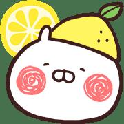 อิโมจิไลน์ Usamaru อิโมจิสำหรับฤดูร้อน
