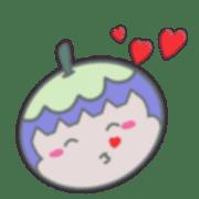 อิโมจิไลน์ ทุเรียนและมังคุดน่ารักๆอิโมจิ