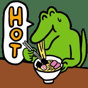 อิโมจิไลน์ 100 Nichi Go ni Shinu Wani อิโมจิ