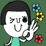 อิโมจิไลน์ Cute Girl!!!