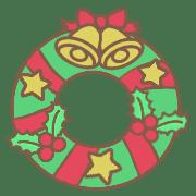 อิโมจิไลน์ Cat and winter emoji *