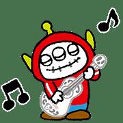 อิโมจิไลน์ Alien Remix Emoji