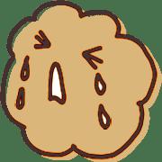 อิโมจิไลน์ Emoji like cream puffs