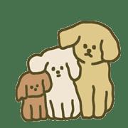 อิโมจิไลน์ ลูกหมาขนปุยสุดน่ารัก