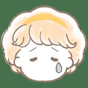 อิโมจิไลน์ *fancy retro girl*honorific emoji