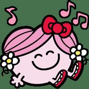 อิโมจิไลน์ Mr. Men Little Miss Emoji