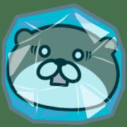 อิโมจิไลน์ Otter with sharp eyes Vol.4