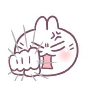 อิโมจิไลน์ BossTwo: อิโมจิดุ๊กดิ๊กกระต่ายน่ารัก